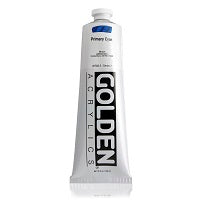 Golden Heavy Body Acrylic Primary Cyan 5 oz
