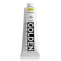 Golden Heavy Body Acrylic Primary Yellow 5 oz