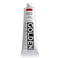 Golden Heavy Body Acrylic Cadmium Red Medium Hue 5 oz