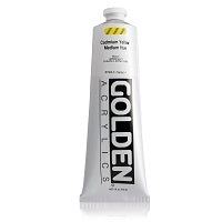 Golden Heavy Body Acrylic Cadmium Yellow Medium Hue 5 oz  (Prop 65 WARNING!)