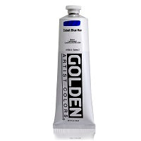 Golden Heavy Body Acrylic Cobalt Blue Hue 5 oz