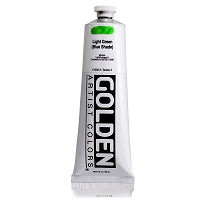 Golden Heavy Body Acrylic Light Green (blue shade) 5 oz