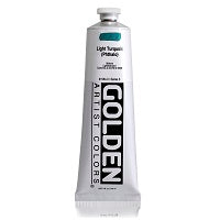 Golden Heavy Body Acrylic Light Turquois (Phthalo) 5 oz