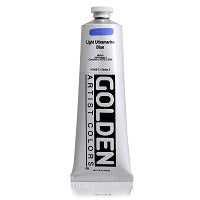 Golden Heavy Body Acrylic Light Ultramarine Blue 5 oz