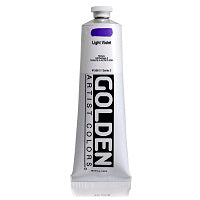 Golden Heavy Body Acrylic Light Violet 5 oz