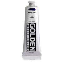 Golden Heavy Body Acrylic Medium Violet 5 oz