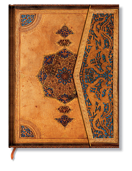 "Paperblanks Journal Safavid Binding Art: Safavid Ultra Lined 7"" X 9"", 144 pages"