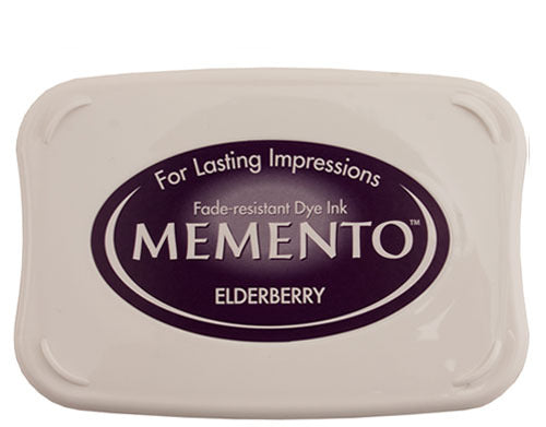 Memento Dye Ink Pad - Elderberry