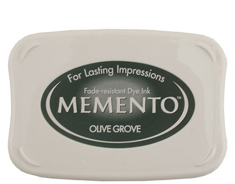 Memento Dye Ink Pad - Olive Grove