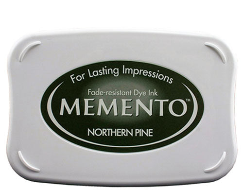 Memento Dye Ink Pad - Northern Pine