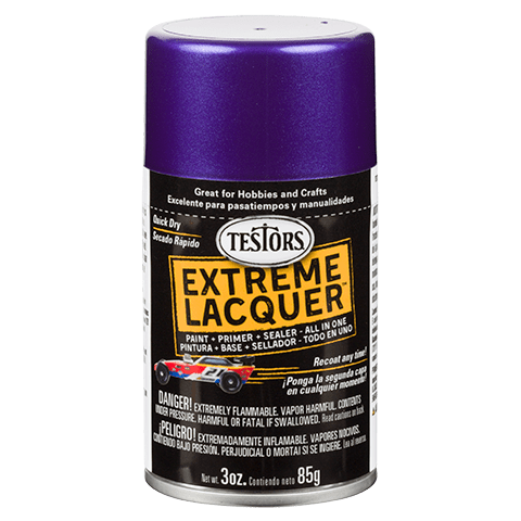 Testors Extreme (one coat) Spray Lacquer 3 oz - Purple Licious