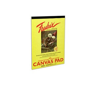 Fredrix Real Canvas Pad  9X12