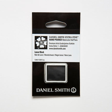 Daniel Smith Extra Fine Watercolor Half Pan - Lunar Black