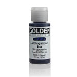 Golden Fluid Acrylic Anthraquinone Blue 1 oz