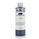 Golden Fluid Acrylic Anthraquinone Blue 8 oz