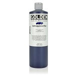 Golden Fluid Acrylic Anthraquinone Blue 16 oz
