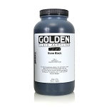 Golden Fluid Acrylic Bone Black 32 oz