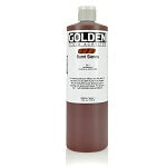 Golden Fluid Acrylic Burnt Sienna 16 oz