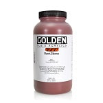 Golden Fluid Acrylic Burnt Sienna 32 oz  (Prop 65 WARNING!)