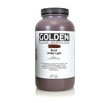 Golden Fluid Acrylic Burnt Umber Light 32 oz