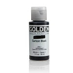 Golden Fluid Acrylic Carbon Black 1 oz