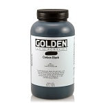 Golden Fluid Acrylic Carbon Black 32 oz