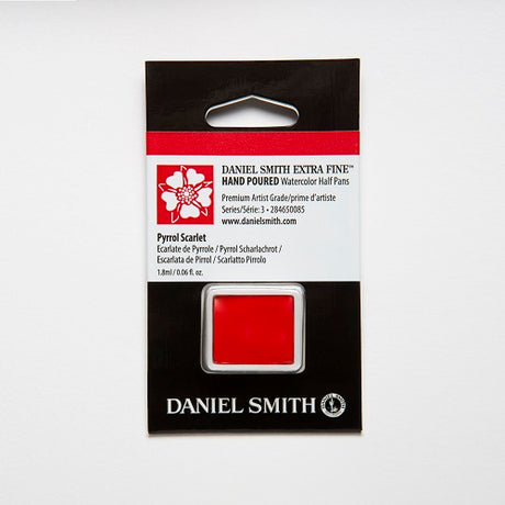 Daniel Smith Extra Fine Watercolor Half Pan - Pyrrol Scarlet