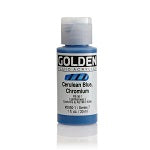 Golden Fluid Acrylic Cerulean Blue Chromium 1 oz