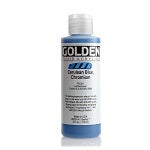 Golden Fluid Acrylic Cerulean Blue Chromium 4 oz
