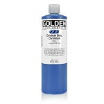 Golden Fluid Acrylic Cerulean Blue Chromium 16 oz
