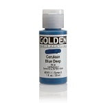 Golden Fluid Acrylic Cerulean Blue Deep 1 oz