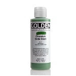 Golden Fluid Acrylic Chromium Oxide Green 4 oz