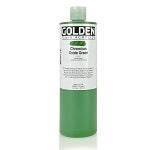 Golden Fluid Acrylic Chromium Oxide Green 16 oz