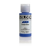 Golden Fluid Acrylic Cobalt Blue 1 oz