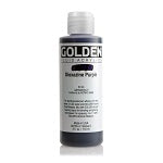 Golden Fluid Acrylic Dioxazine Purple 4 oz
