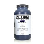 Golden Fluid Acrylic Dioxazine Purple 32 oz