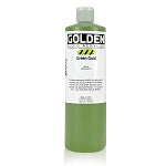 Golden Fluid Acrylic Green Gold 16 oz