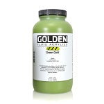 Golden Fluid Acrylic Green Gold 32 oz