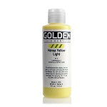 Golden Fluid Acrylic Hansa Yellow Light 4 oz