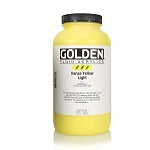 Golden Fluid Acrylic Hansa Yellow Light 32 oz