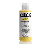 Golden Fluid Acrylic Hansa Yellow Medium 4 oz
