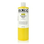 Golden Fluid Acrylic Hansa Yellow Medium 16 oz