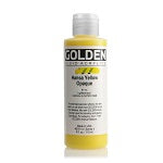 Golden Fluid Acrylic Hansa Yellow Opaque 4 oz