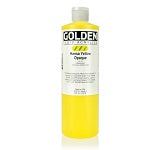 Golden Fluid Acrylic Hansa Yellow Opaque 16 oz