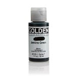 Golden Fluid Acrylic Jenkins Green 1 oz