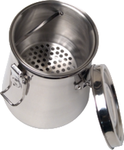 Airtight Stainless Steel Brush Washer - 24 ounce