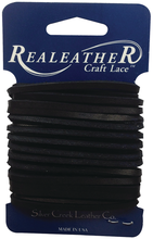 "Latigo Leather Lace 1/8"" x 4 yards - Black"
