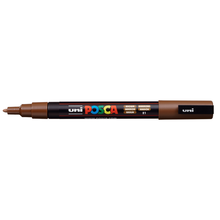 uni POSCA Paint Marker PC-3M Fine Bullet Tip - Brown