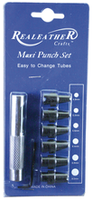 "Maxi Leather Punch Set - from 3/16"" to 5/16"""