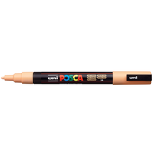 uni POSCA Paint Marker PC-3M Fine Bullet Tip - Light Orange